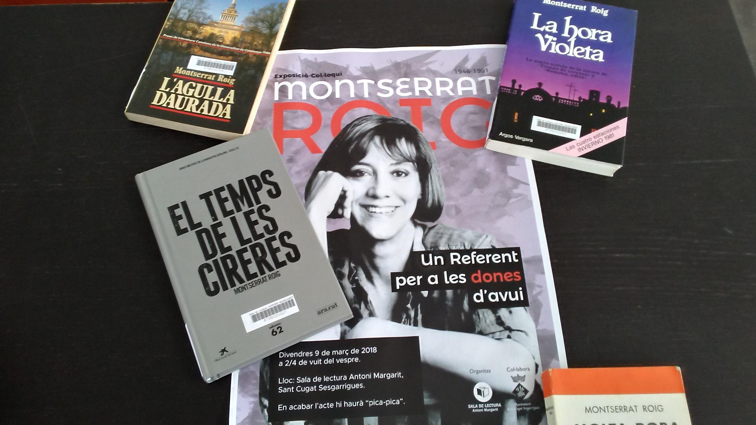 Montserrat Roig, una dona referent